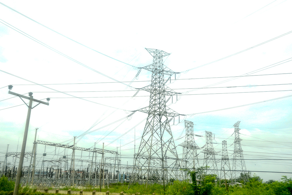 An electricity substation.Photo: Phoe Khwar