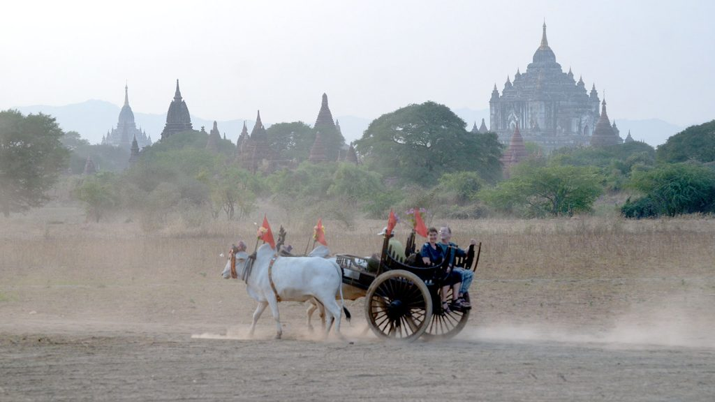 A supurb panorama view of Bagan.Photo: Phoe Khwar
