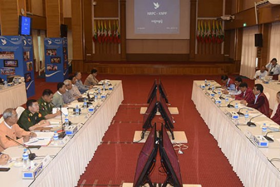 NRPC, KNPP hold peace talks in  Nay Pyi Taw