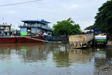 Ayeyawady River stops 25 cm above danger mark, water likely to recede today