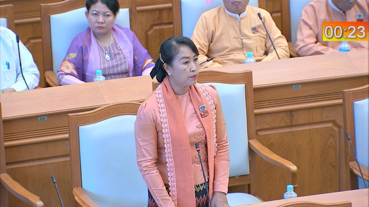 MP Dr Khin Soe Soe Kyi. Photo :MNA