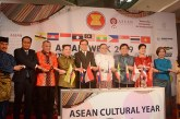 Union Minister for International Cooperation U Kyaw Tin opens the ASEAN Joint Cultural Event- ASEAN Week 2019