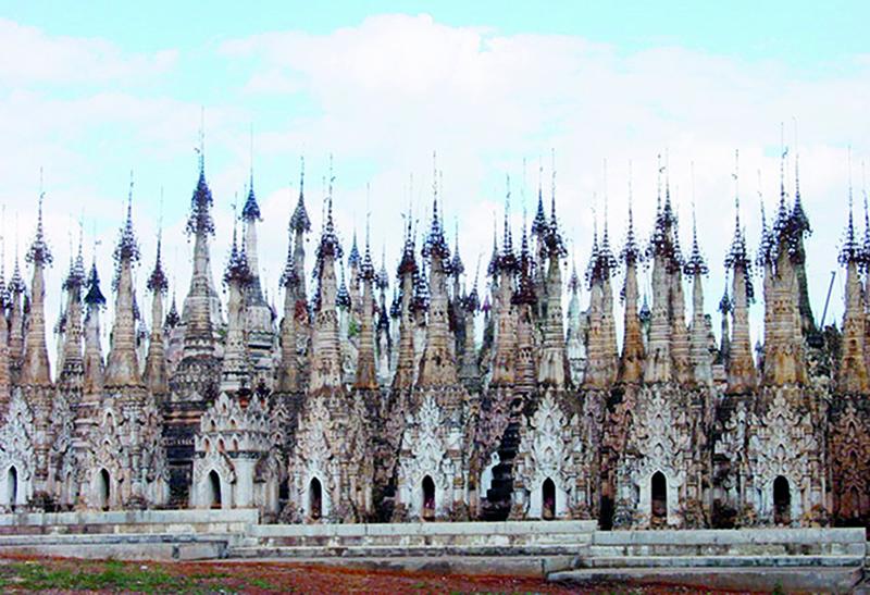 Kakku Pagoda in Taunggyi. copy