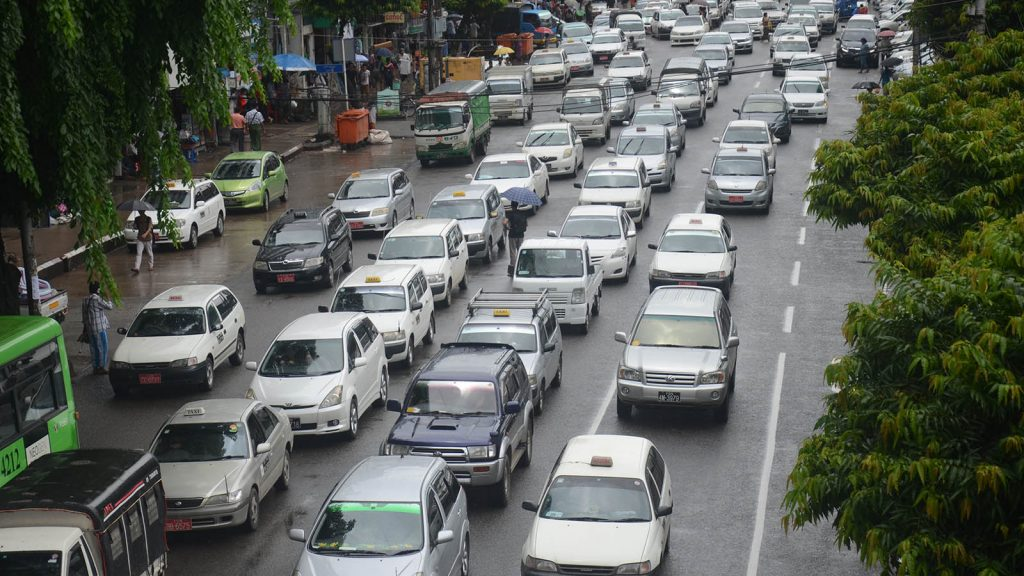 Yangon City is demanding more left-hand drive vehicles to ensure road safety.Photo : Phoe Khwar