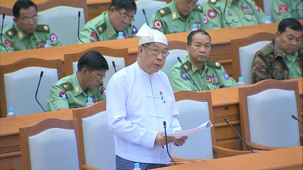 Deputy Governor of CBM U Soe Min.Photo: MNA