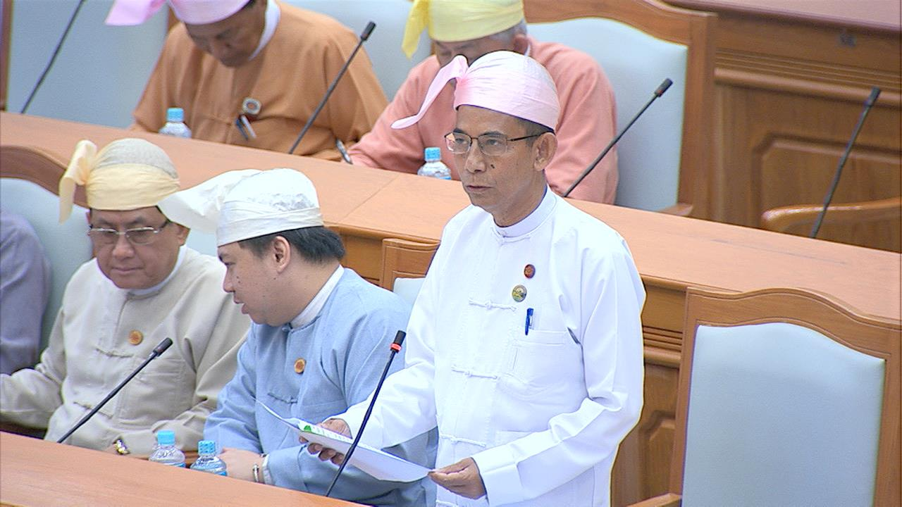 Union Minister for Agriculture, Livestock and Irrigation Dr Aung Thu.