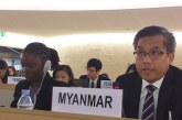 Myanmar Permanent Representative makes rebuttal statements to Special Rapporteur and FFM at interactive dialogues