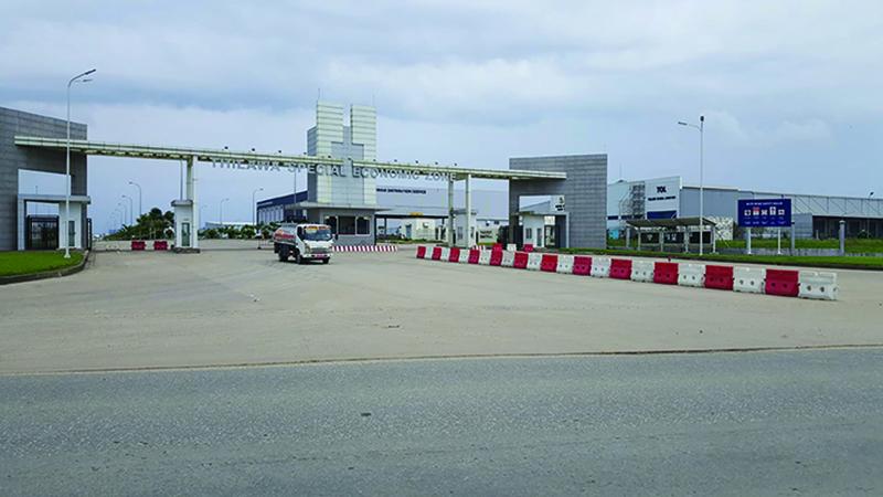 Thilawa SEZ gate 1 copy