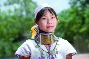 A traditional Kayan girl copy