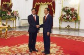 Vice President U Henry Van Thio meets with Indonesian President, Vice President in Jakarta