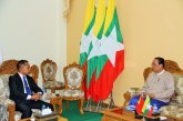Union Minister for Electricity and Energy receives Ambassador of Timor-Leste