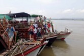 Tourist arrivals in Mingun via Mayanchan jetty up 10%