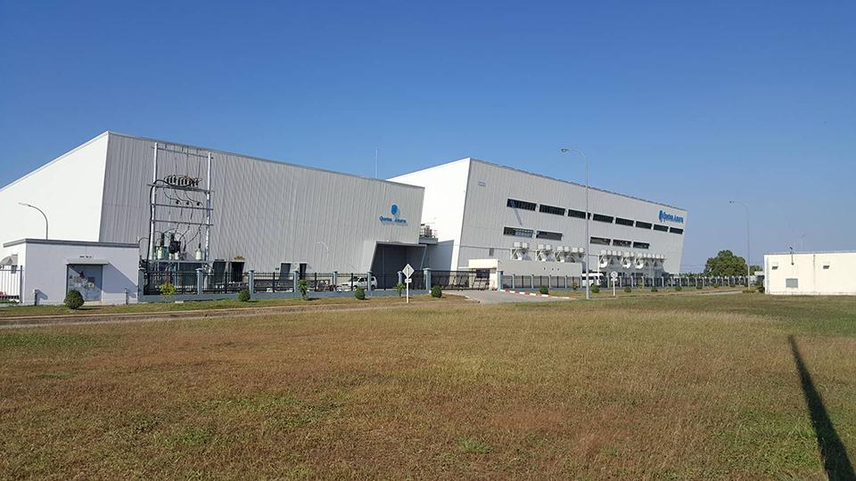 Geuston Amaua, Garment Factory in Thilawa Special Economic  Zone. Photo: Ye Htut Tin (NLM)