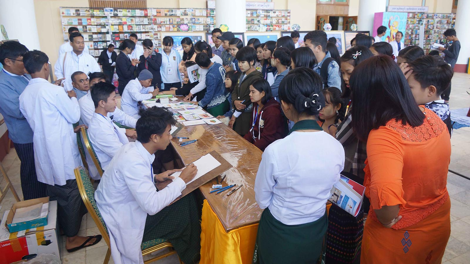 Second day of Magway youth festival a roaring success