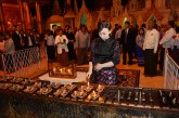 Japanese Princess arrives in Yangon, visits Shwedagon Pagoda
