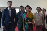 State Counsellor leaves for The Hague, Netherlands