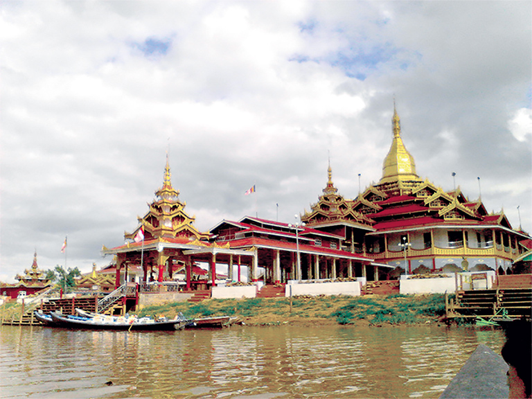 Hpaung Daw U Pagoda.Photo:Maung Tha (archaeology)