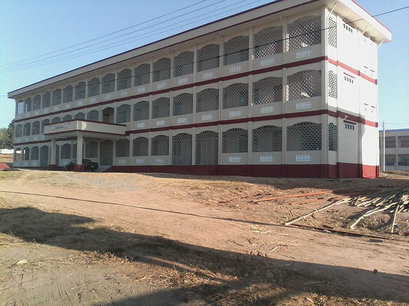 Katha receives three-storey new teachers college