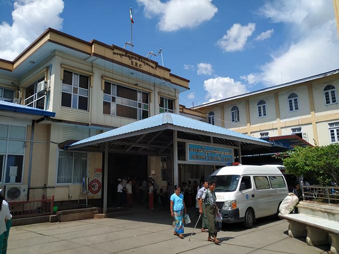Mandalay General Hospital.PHOTO: AUNG PHYO KYAW