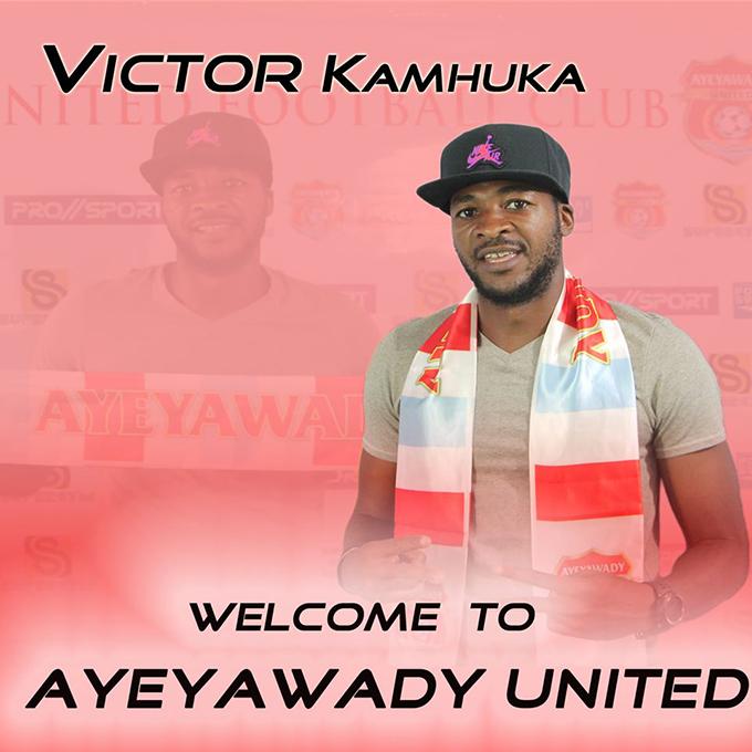 Zimbabwean defender Victor Kamhuka. Photo: MNL