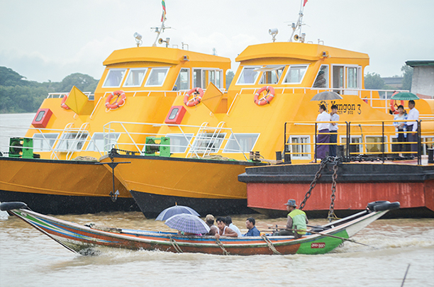 Need more jetties to expand Yangon Water Bus operation: Minister