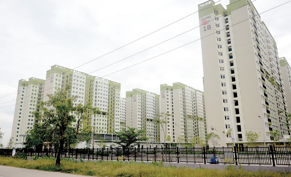 Yadana Hninsi housing project.Photos: Phoe Khwar