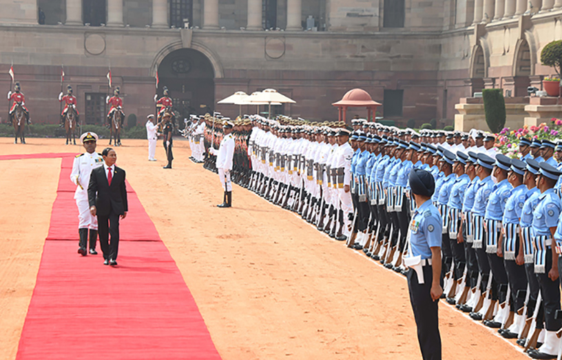 President U Win Myint witnesses signing 10 MoUs on second-day of visit in India