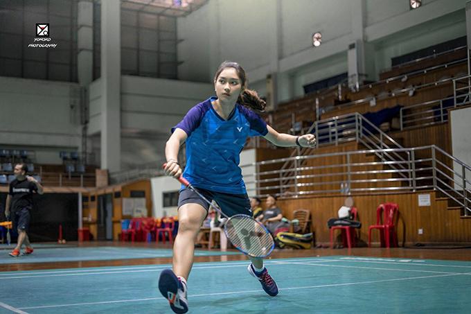 Myanmar badminton star Thet Htar Thuzar. Photo: Thet Htar Thuzar's Facebook page