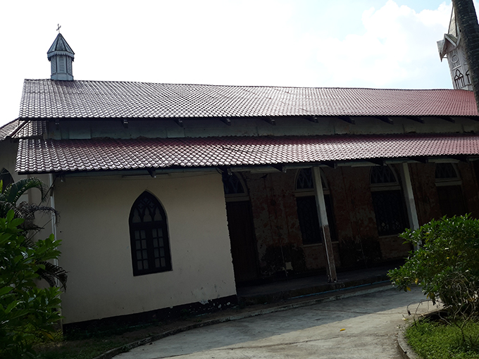Armenian Apostolic Orthodox Church in Yangon.Photo: MaungTha (Archaeology)