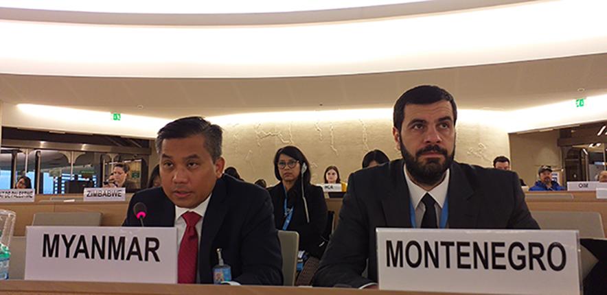 Permanent Representative of Myanmar U Kyaw Moe Tun.Photo: MNA