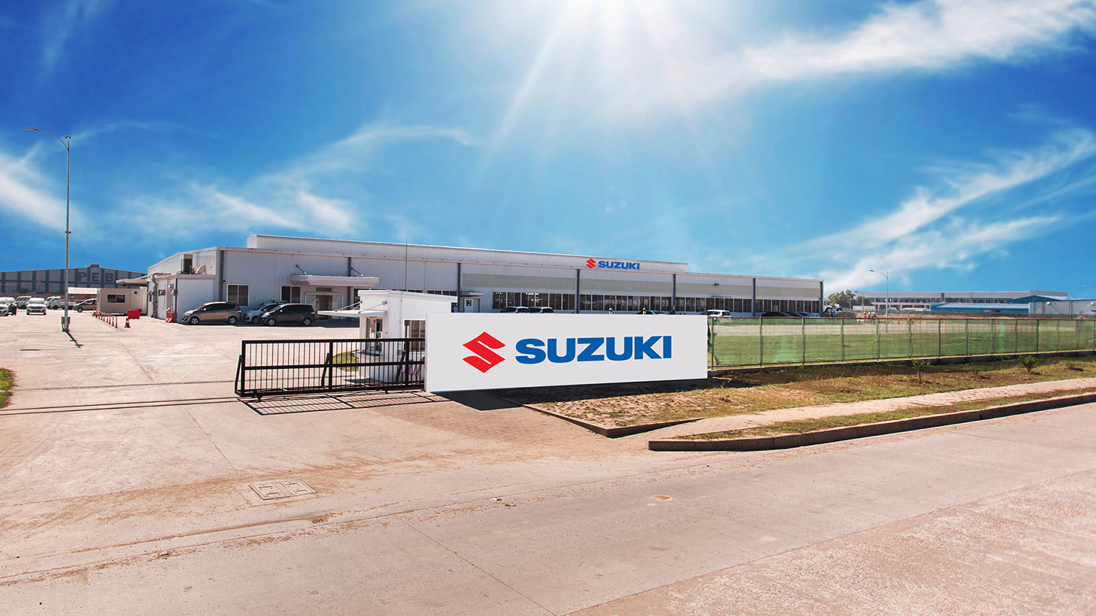 Suzuki factory in Thilawa Industrial zone. Photo: Supplied