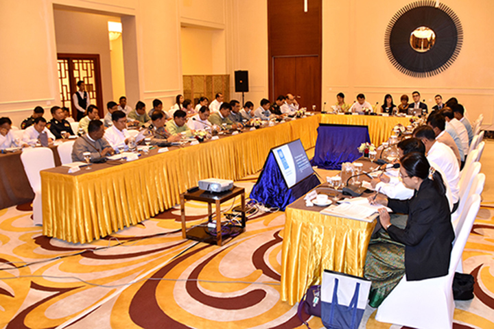 Anti-Corruption Commission holding the meeting on organizing workshop for the Corruption Prevention Units in May. Photo: mna