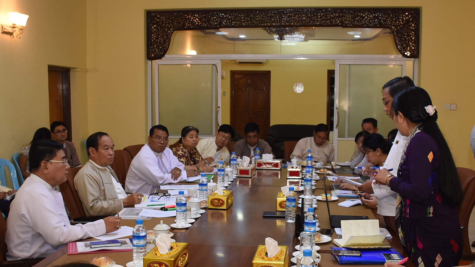Ministry of Health and Sports holds the coordination meeting 34/2020  on prevention and control of COVID-19 infection.Photo: MNA