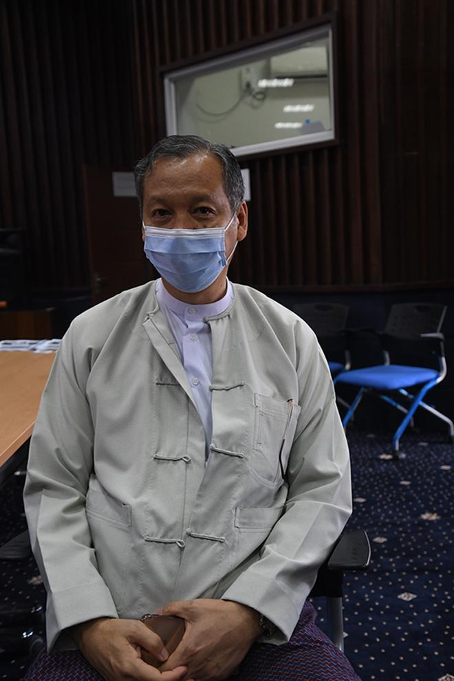 Director General of MRD Dr Zaw Than Tun. Photo: nay lin