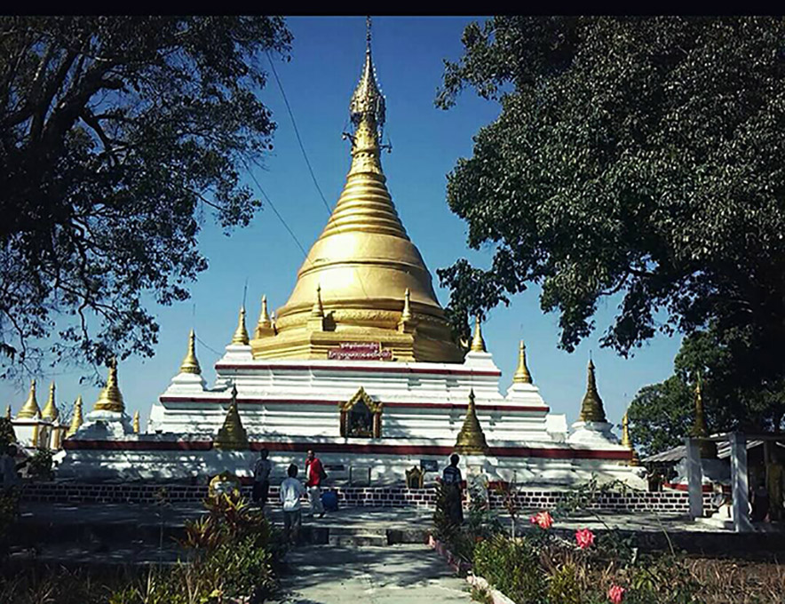 Pyetkhaywe Maha stupa.