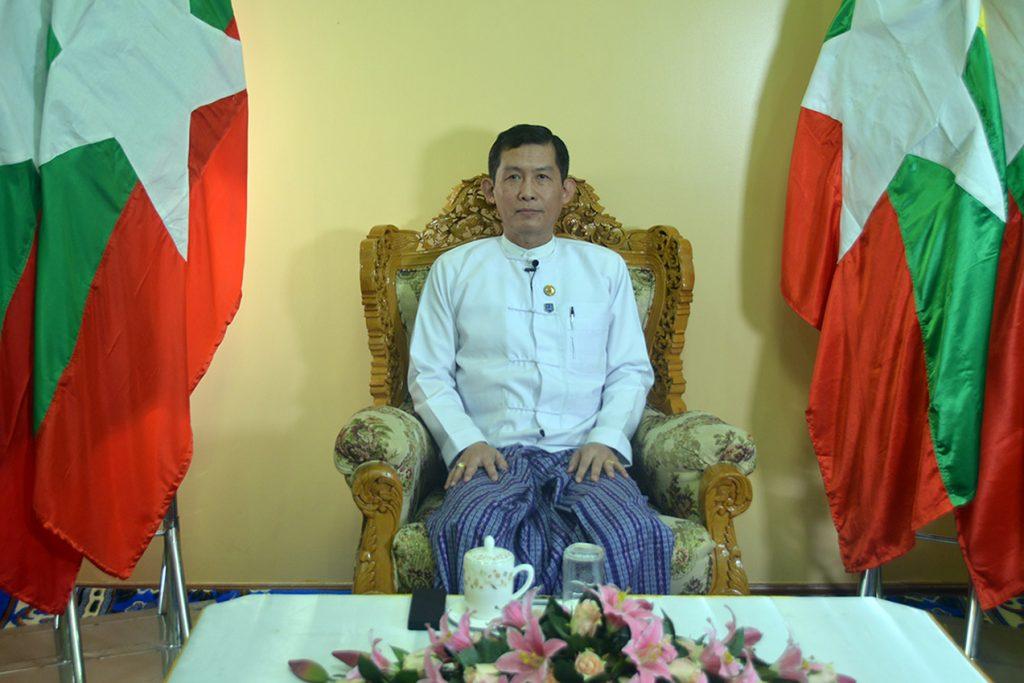 Deputy Minister  Dr. Tun Naing