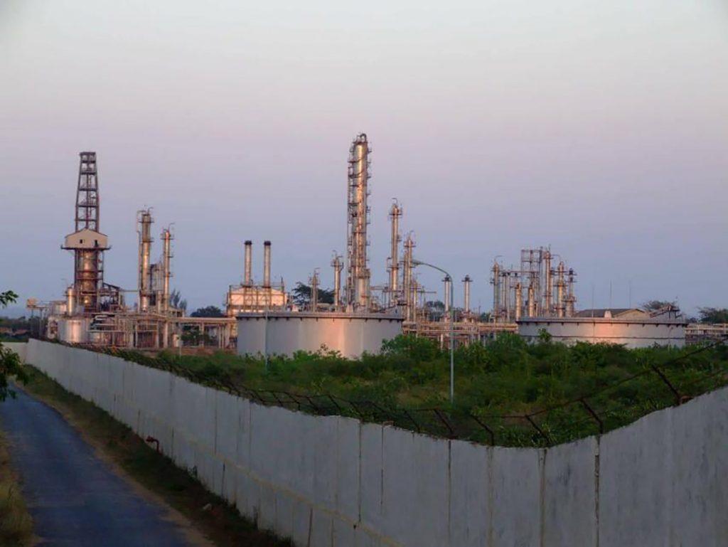 Mann-Thanbayarkan Refinery.