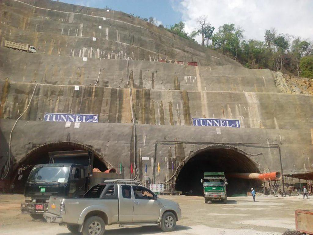 Upper Yeywa Hydropower Plant Project.