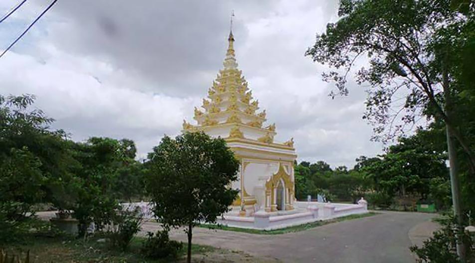 King Sagaing's tomb.