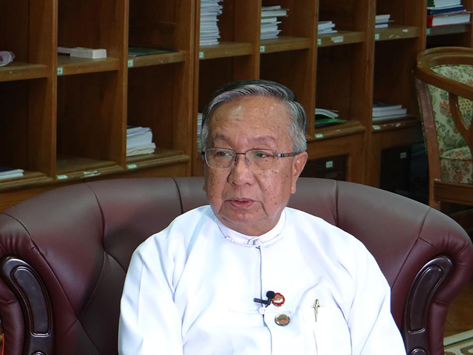 Union Minister  U Han Zaw