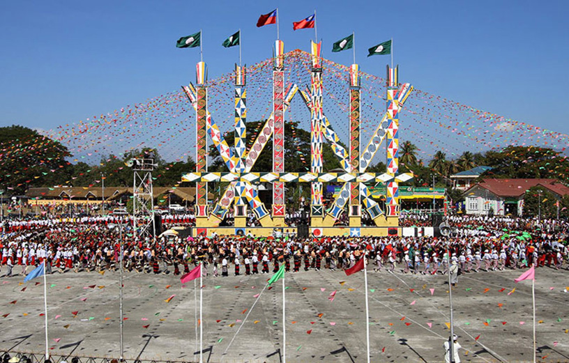 Kachin Manaw Festival.