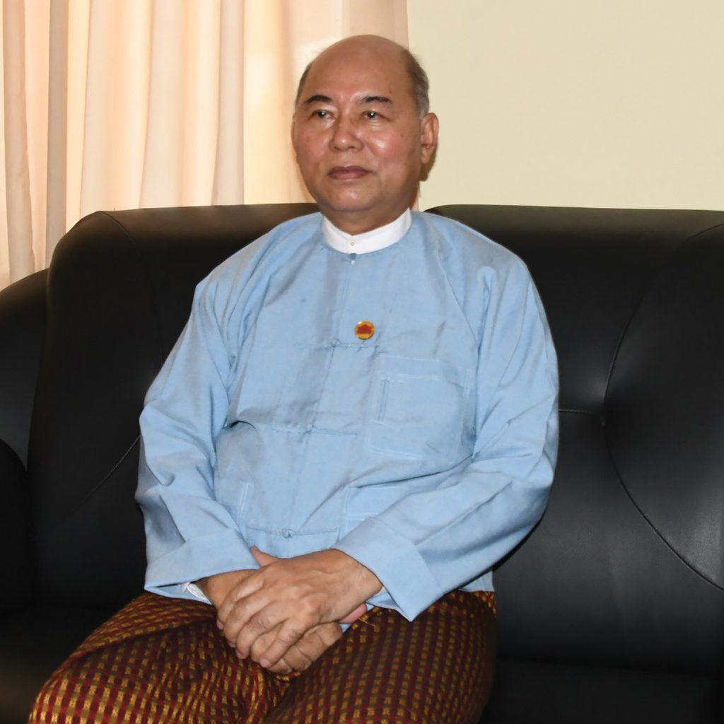 Deputy Minister U Khin Maung Tin