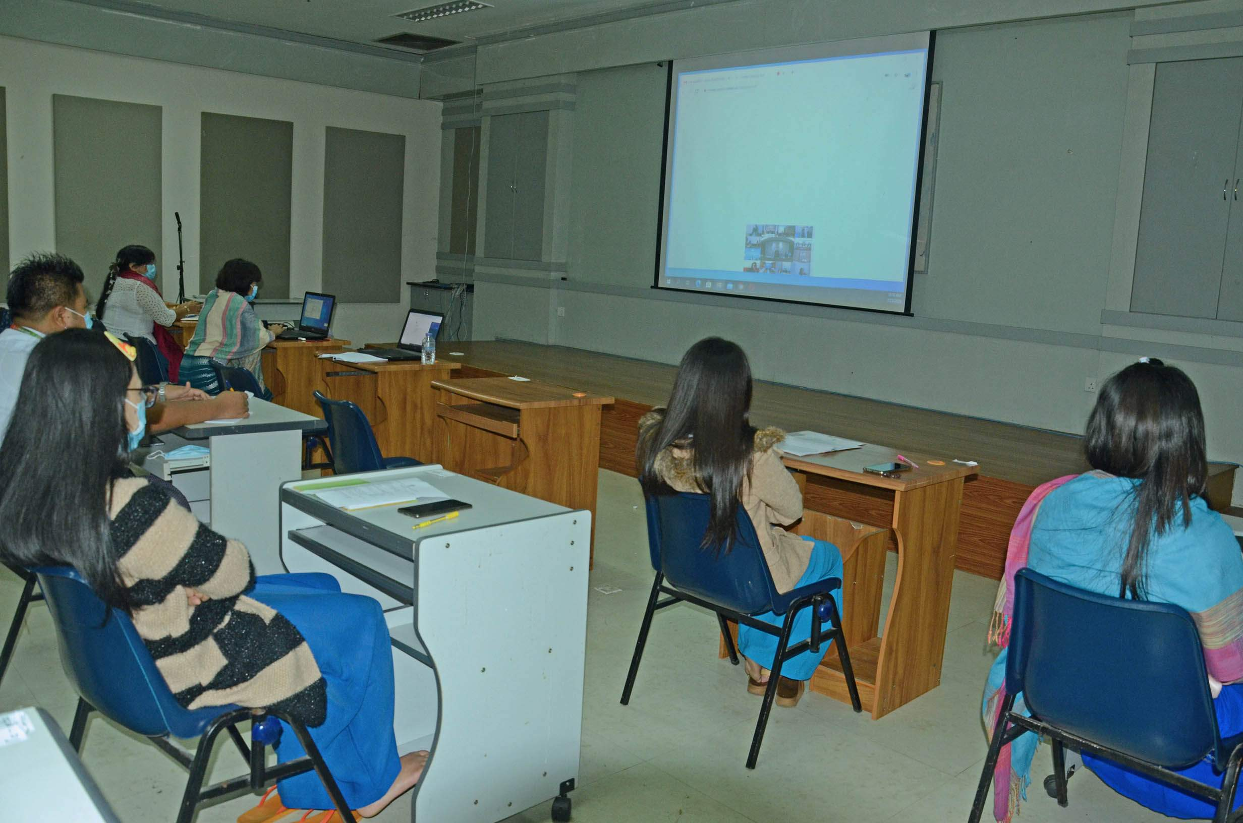 MoI staff members join ASEAN Special Online Workshop on Fake News on 23 July.PHOTO:MNA
