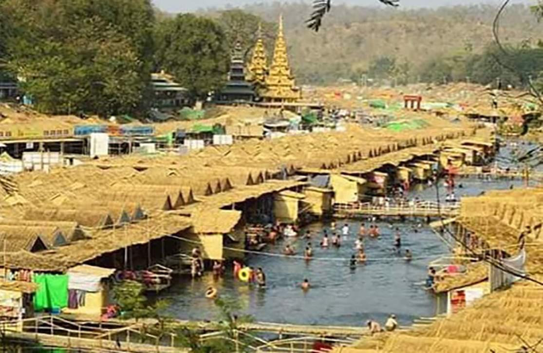 A  hotel zone project will be established on the 60-acre land near Shwesettaw pagoda in Minbu district of Magway Region. Photo :  Zayyatu (Magway)