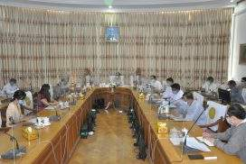 Union Minister Dr Myint Htwe meets The Defeat-NCD Partnership delegates