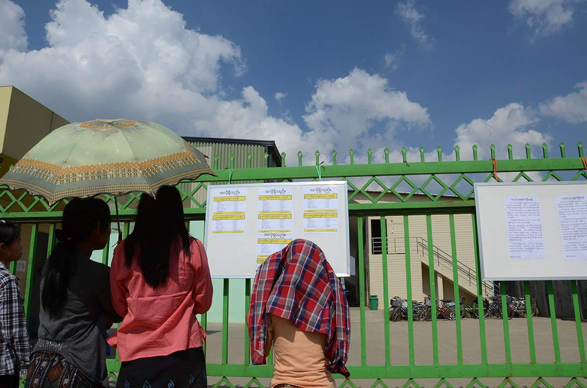 Factories, mills and workplaces  in Myanmar were suspended for months due to COVID-19 pandemic.PHOTO: PHOE KHWAR