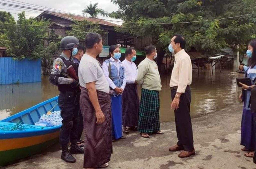 Kachin State flood victims get relief assistance