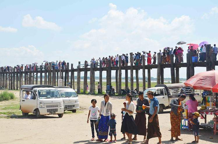 Action to be taken against undisciplined visitors to U Bein Bridge