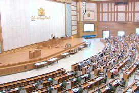 Pyidaungsu Hluttaw discusses bills, loan programme, budget reports