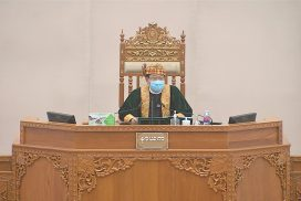 Second Pyidaungsu Hluttaw convenes 11th-day meeting of 17th regular session